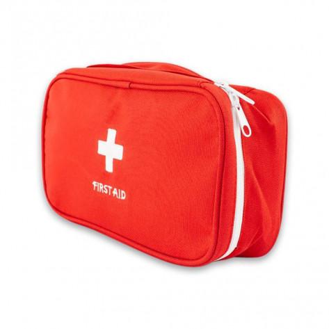 Органайзер-аптечка для лекарств First-Aid Pouch Large, красный