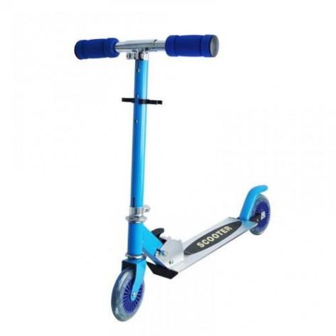 Самокат для детей двухколесный Скутер, голубой