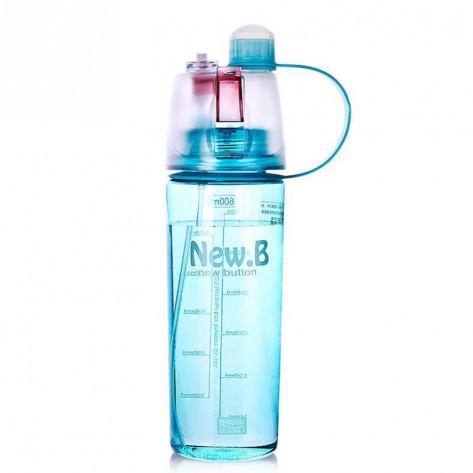 Бутылка для воды спортивная с распылителем