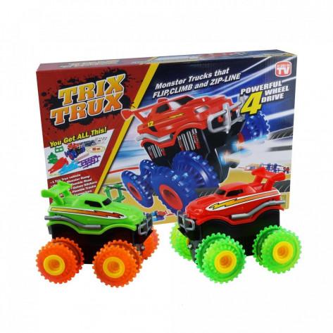 Машинки Монстр Трак, игрушечный набор Trix Trux