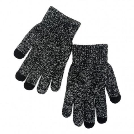 Сенсорные перчатки, серый