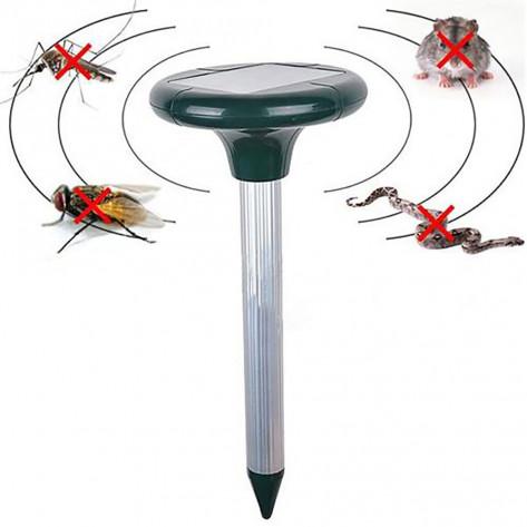 Ультразвуковой отпугиватель кротов на солнечных батареях, отпугиватель вредителей Solar Repeller (Солар Репеллер)