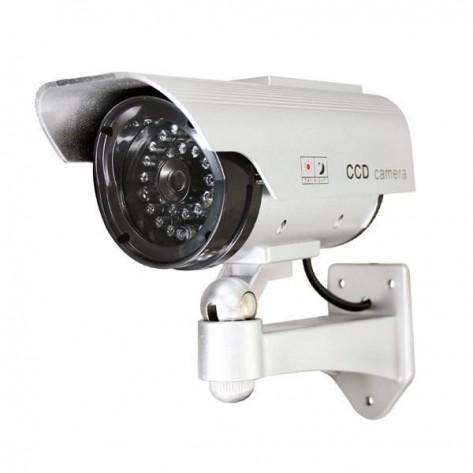 Муляж камеры видеонаблюдения с мигающим красным светодиодом