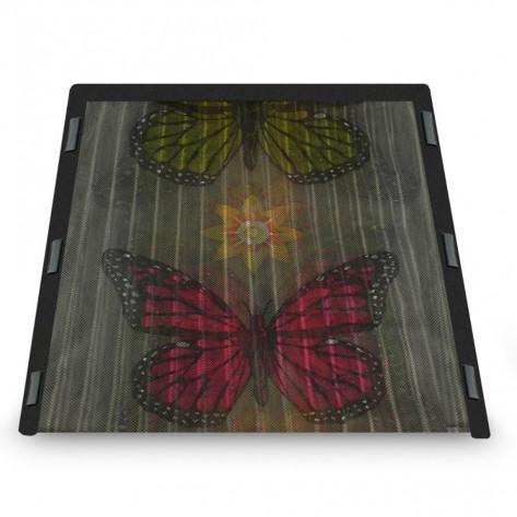Москитная сетка на дверь Magic Mesh (Меджик Меш) с бабочками,  москитная сетка на магнитах