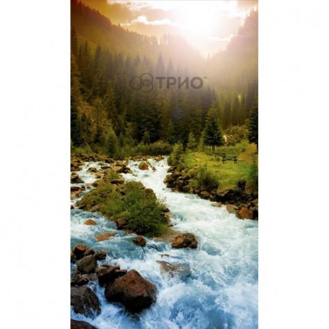 Настенный пленочный обогреватель картины Трио Горная река