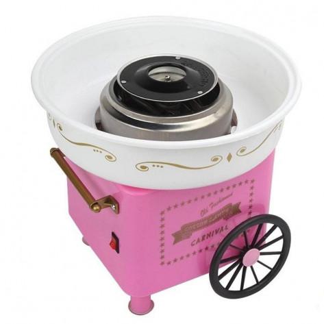 Аппарат для приготовления сладкой ваты на колесиках Carnival – Cotton Candy Maker